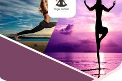 פוסטר ועיצוב לוגו לסטודיו יוגה
