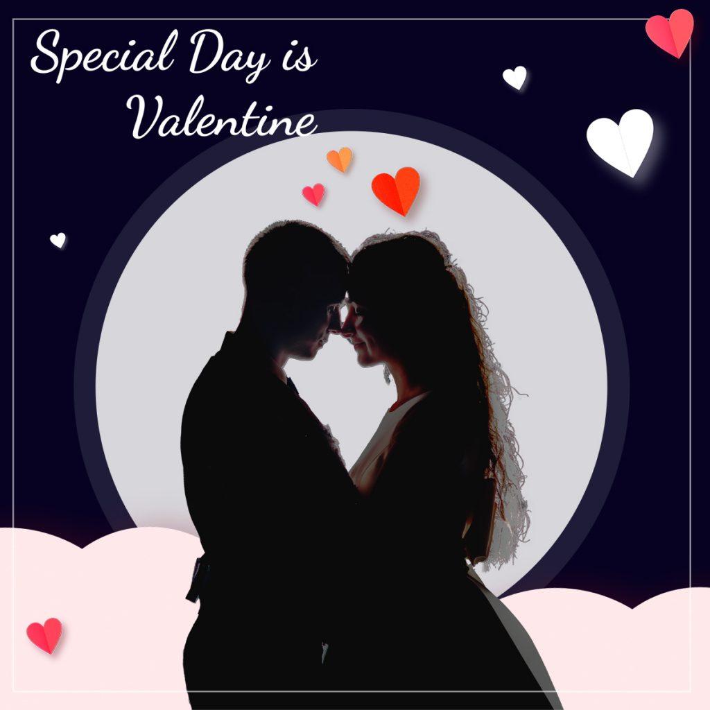 עיצוב מודעת פרסום יום אהבה