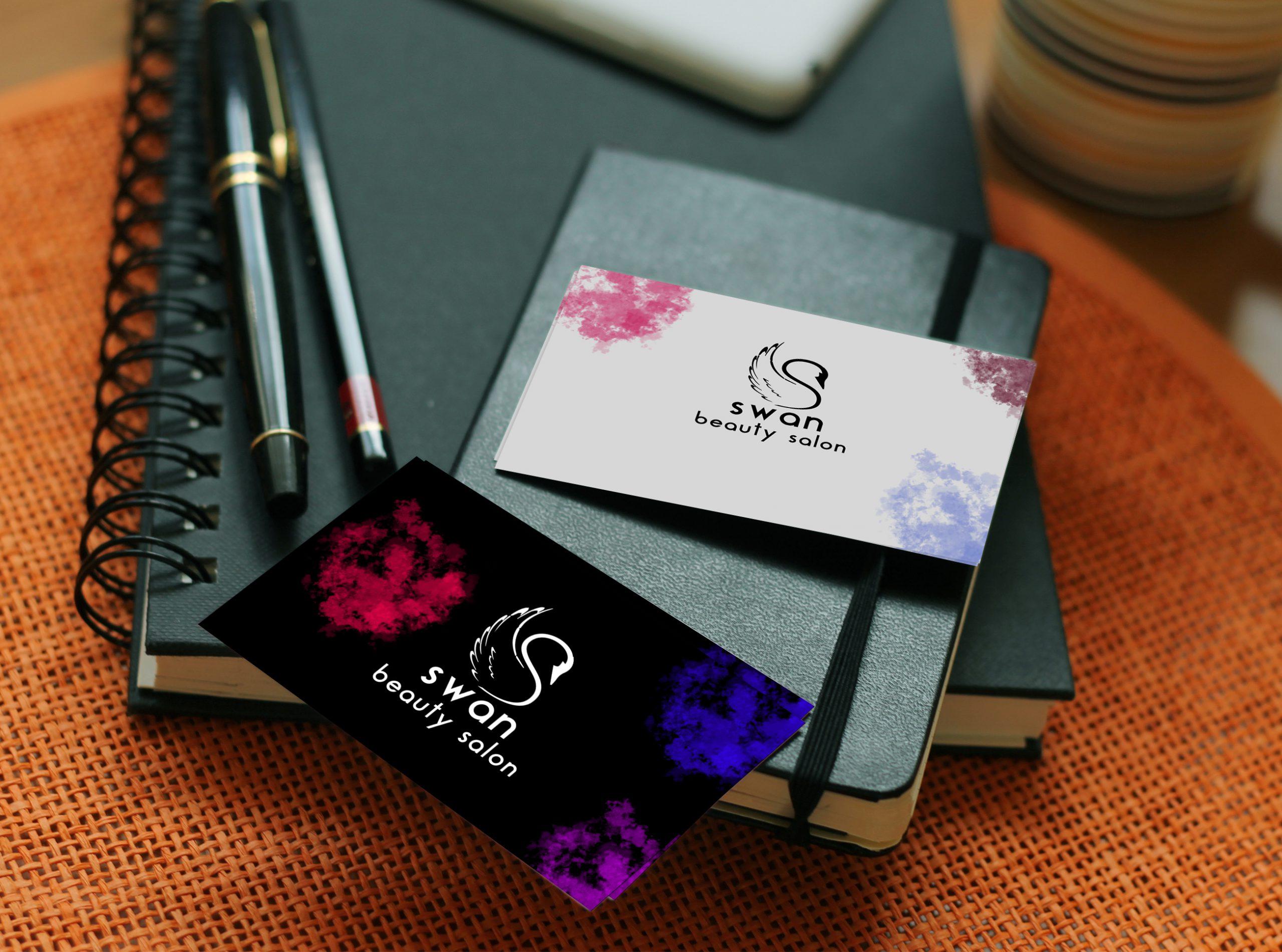 כרטיסי ביקור- סלון ביוטי סטודיו מגה דזיין